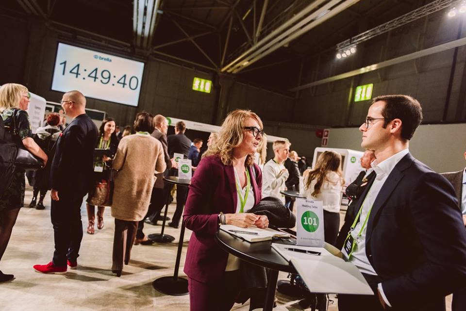 Networking at Nordic Business Forum
