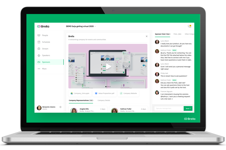 Virtual Platform For Events