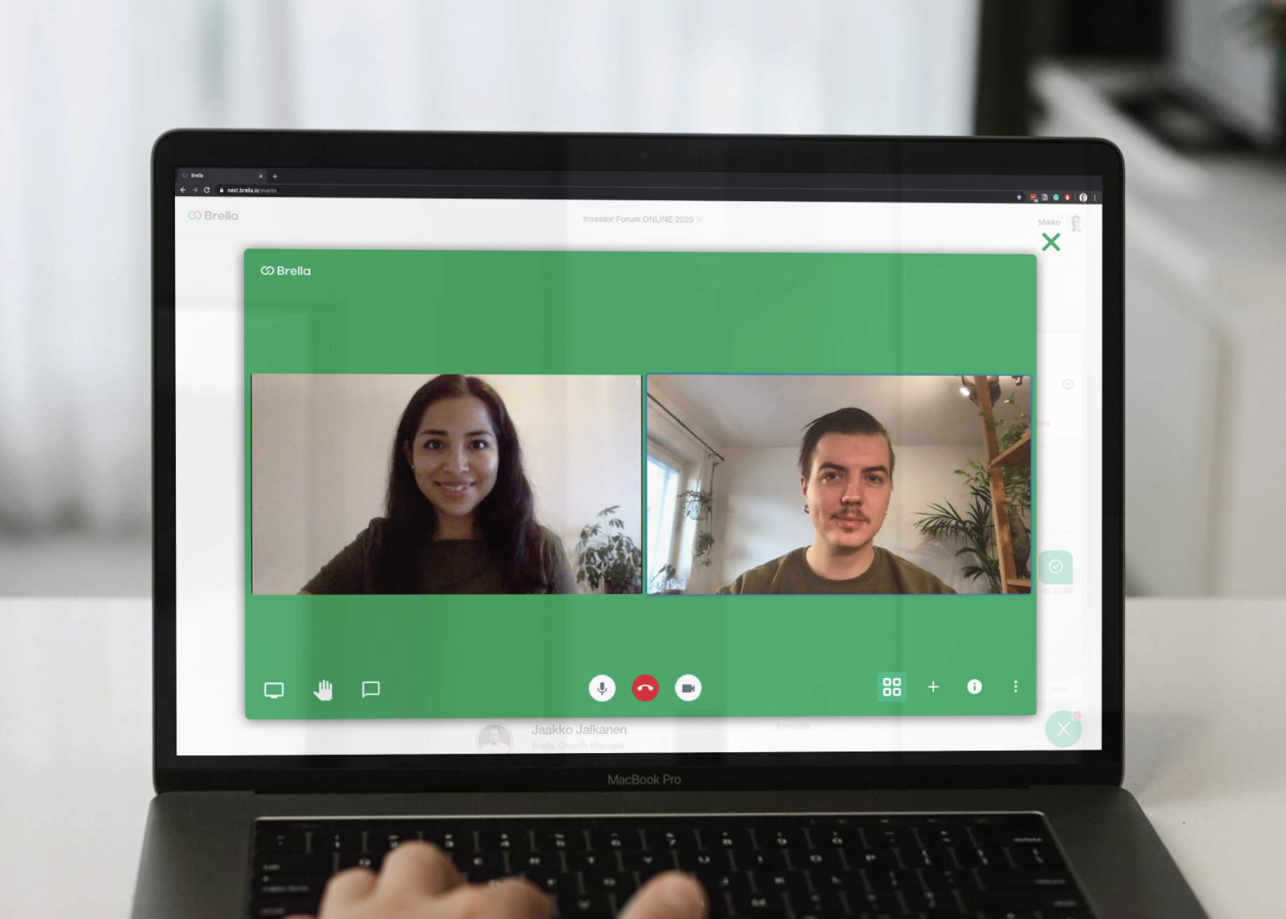 Brella announces new hosted video conferencing for 1:1 meetings